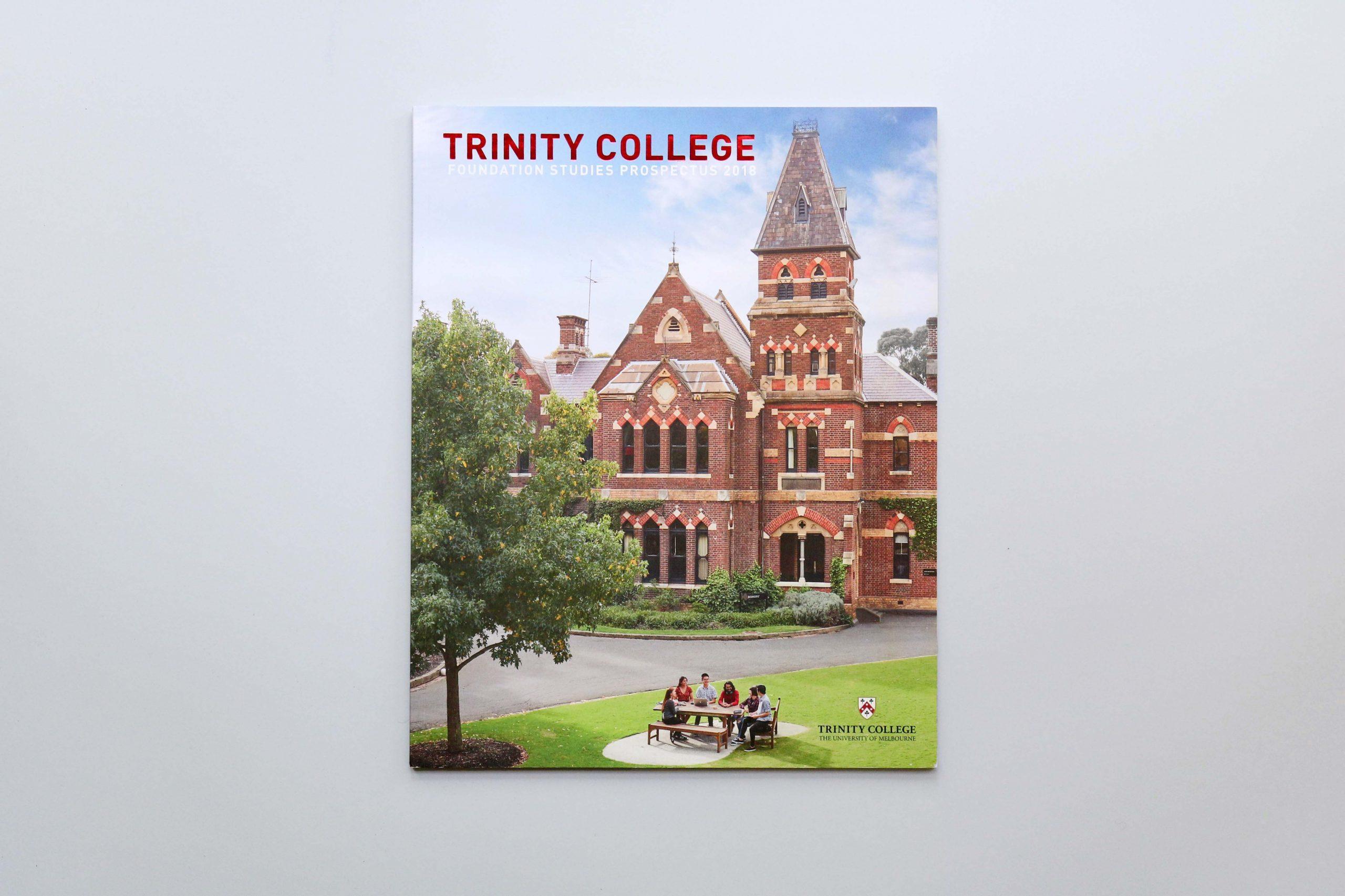 Trinity College Foundation Studies Prospectus