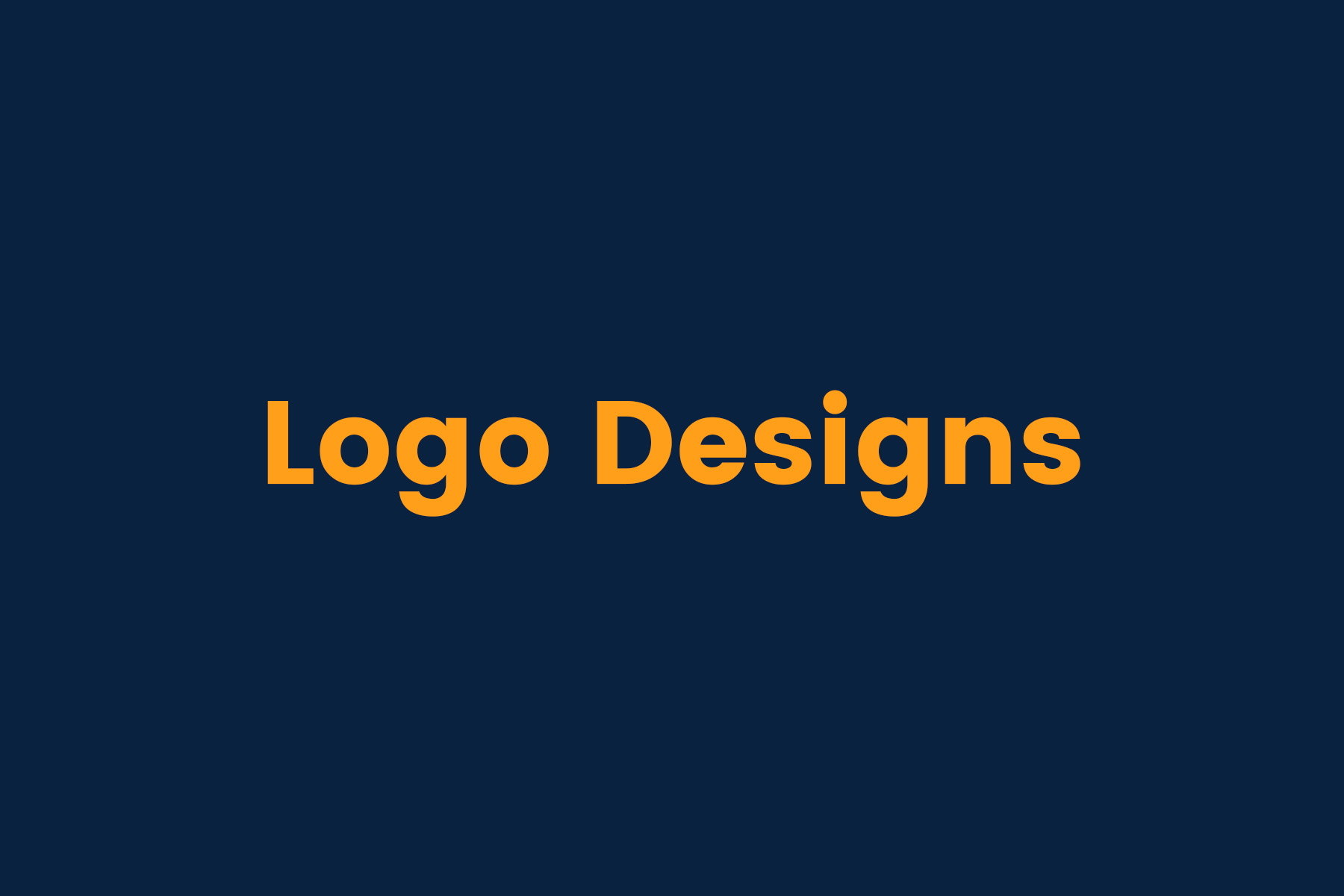 Logo Design Series 1